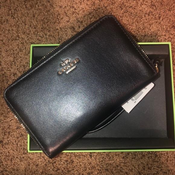 Coach Box Program Smooth ZIP Case